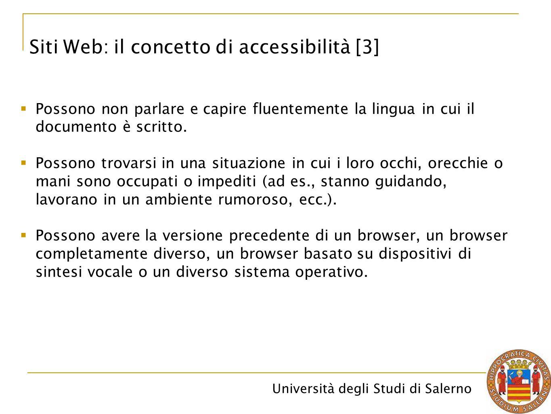 Siti Web: il concetto di accessibilità [3]